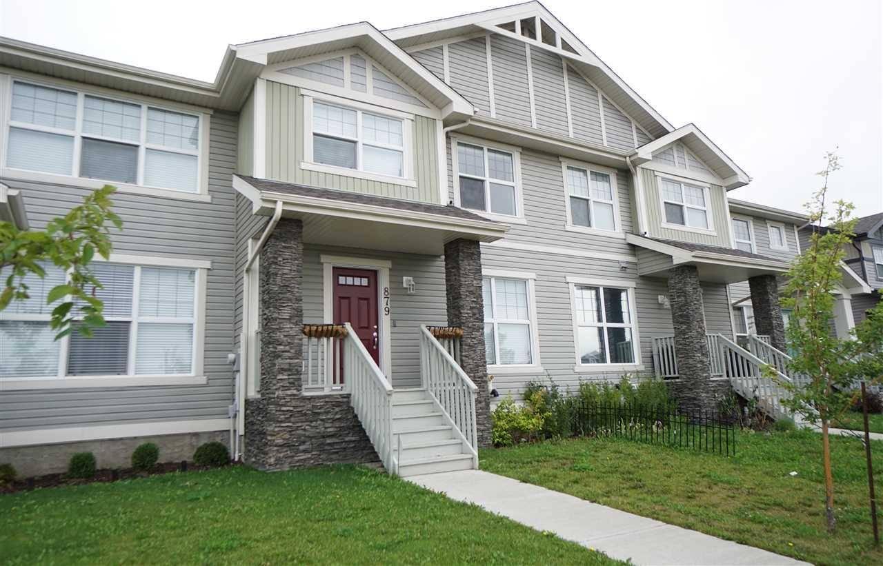 House for sale at 879 Crystallina Nera Wy Nw Edmonton Alberta - MLS: E4169542