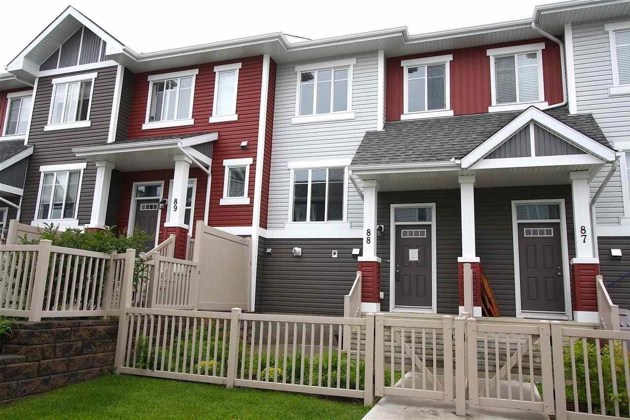 Townhouse for sale at 2905 141 St SW Unit 88 Edmonton Alberta - MLS: E4207749