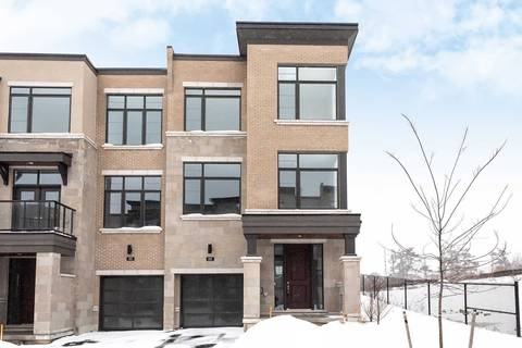 Townhouse for sale at 88 Carrville Woods Circ Vaughan Ontario - MLS: N4709584