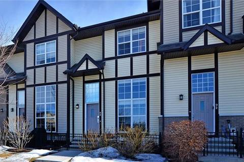 Townhouse for sale at 88 Cranarch Rd Southeast Calgary Alberta - MLS: C4289771
