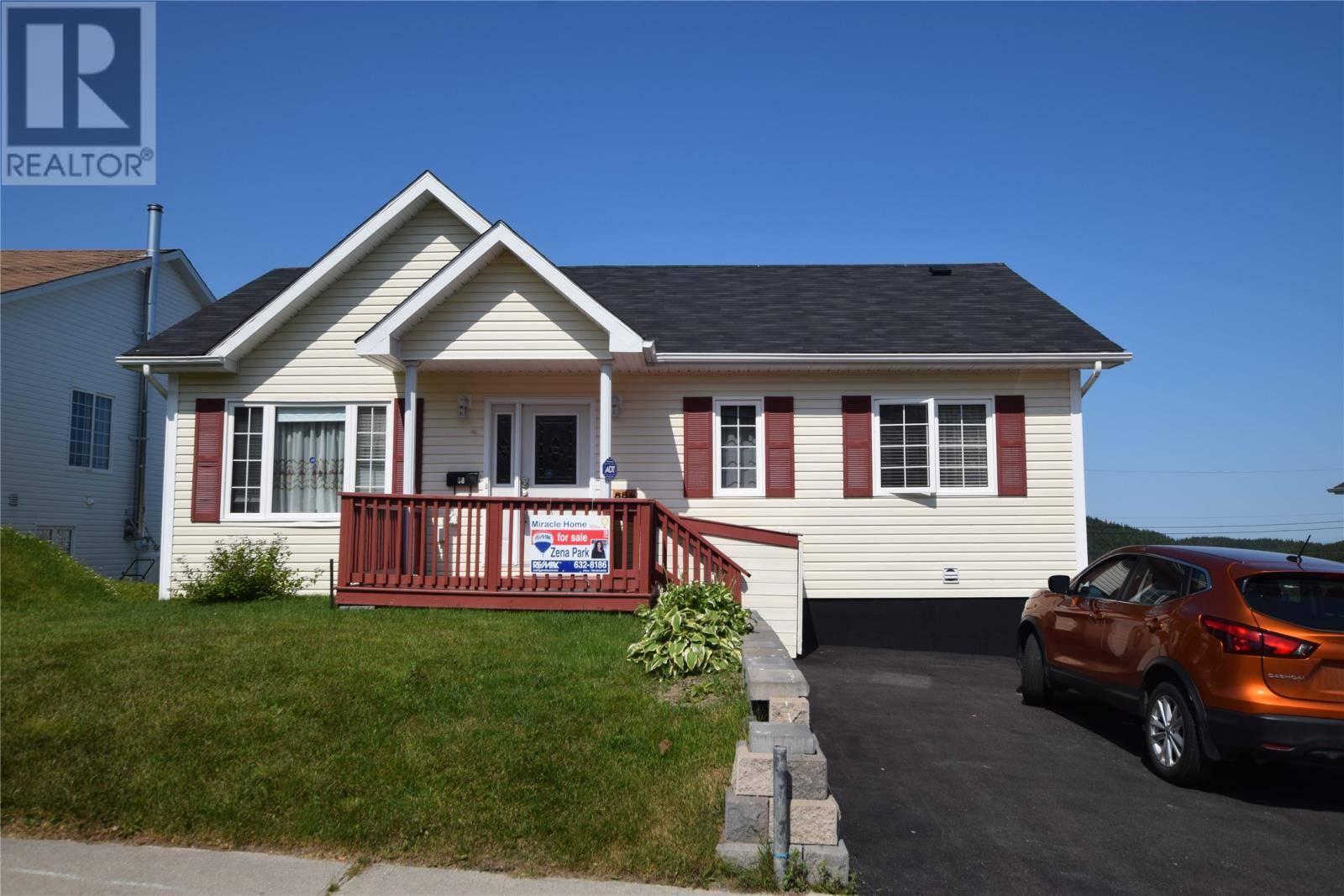 House for sale at 88 Fillatre St Corner Brook Newfoundland - MLS: 1195103