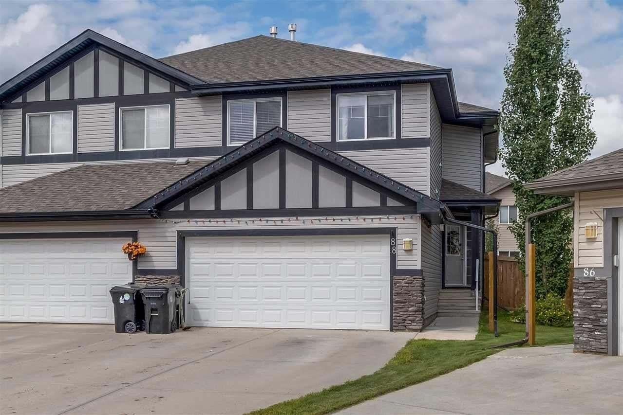Townhouse for sale at 88 Hamilton Co Spruce Grove Alberta - MLS: E4208521
