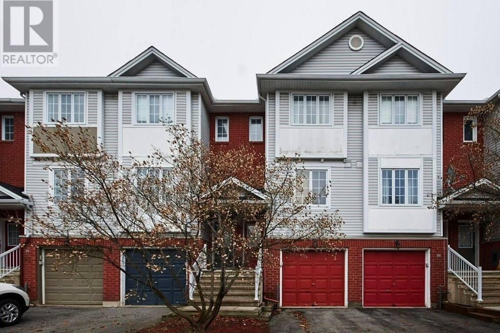Townhouse for sale at 88 Manhattan Cres Ottawa Ontario - MLS: 1176555