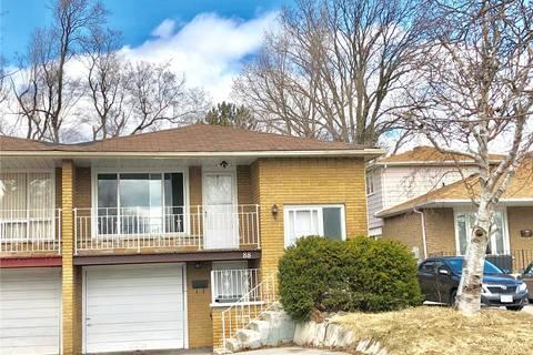 Townhouse for sale at 88 Picola Ct Toronto Ontario - MLS: C4406028