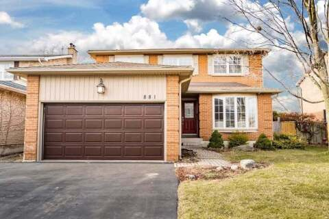 House for sale at 881 Chippenham Dr Mississauga Ontario - MLS: W4822219