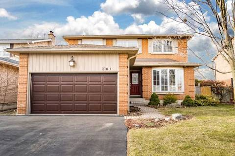 House for sale at 881 Chippenham Dr Mississauga Ontario - MLS: W4717817