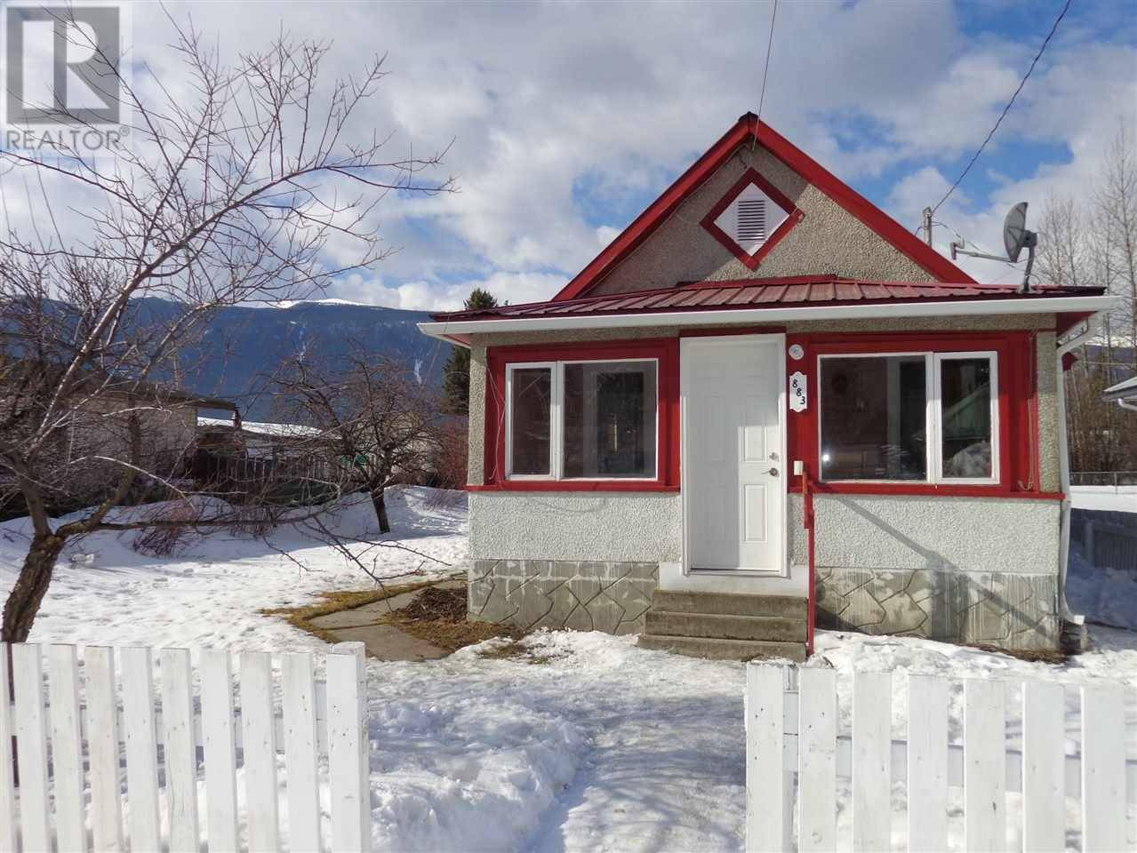 House for sale at 883 3rd Ave Mcbride British Columbia - MLS: R2446896