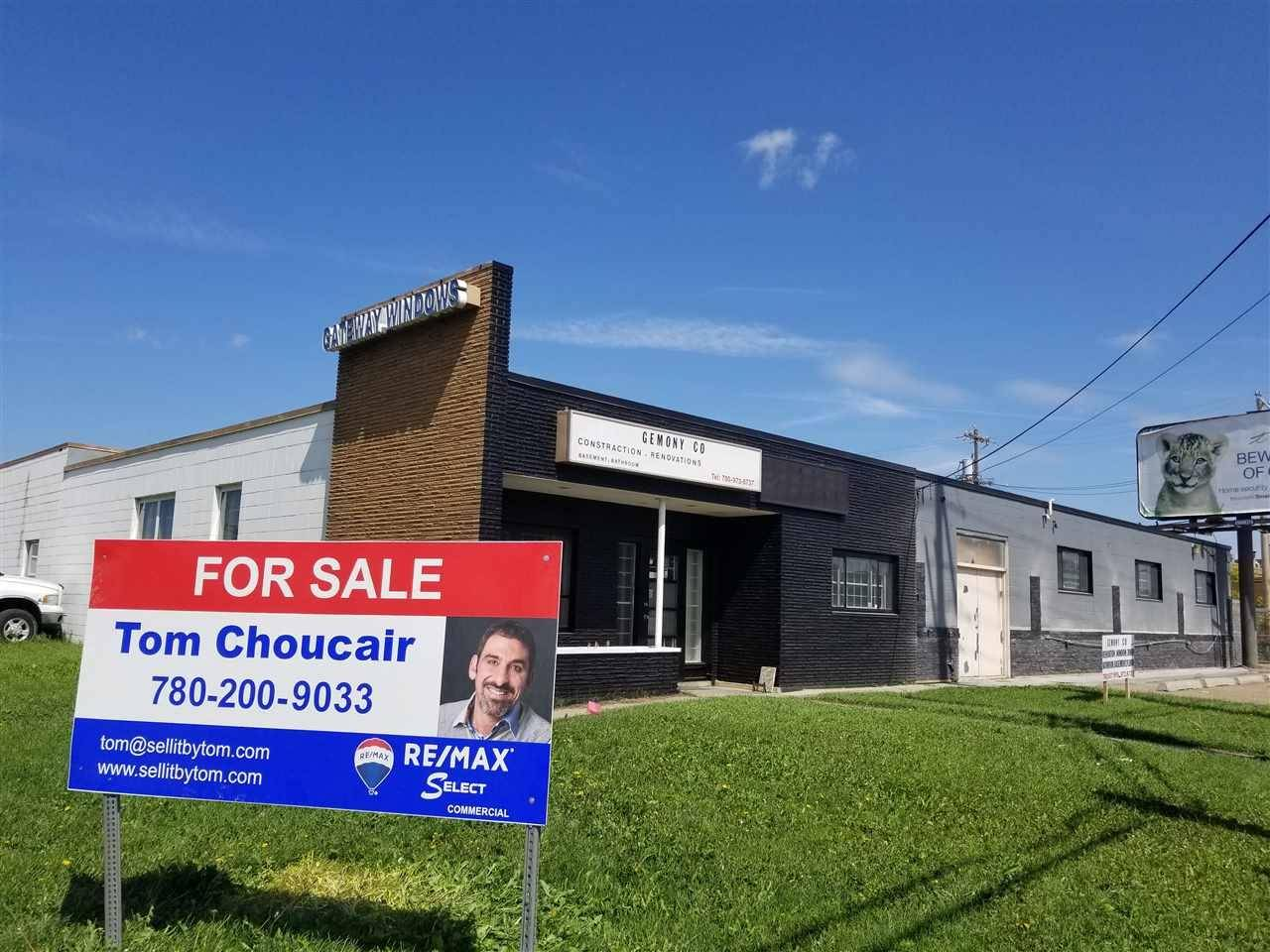 Commercial property for lease at 8830 Yellowhead Tr Nw Edmonton Alberta - MLS: E4177115