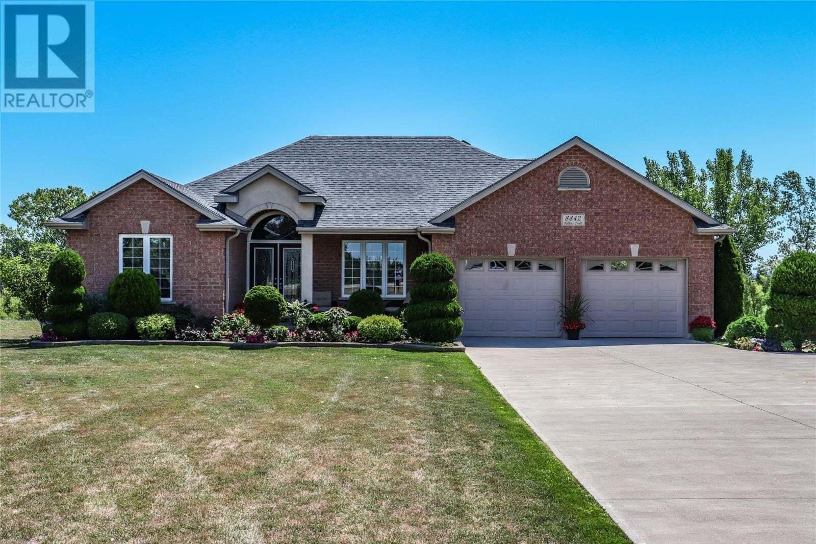 House for sale at 8842 Talbot Tr Blenheim Ontario - MLS: 20009294