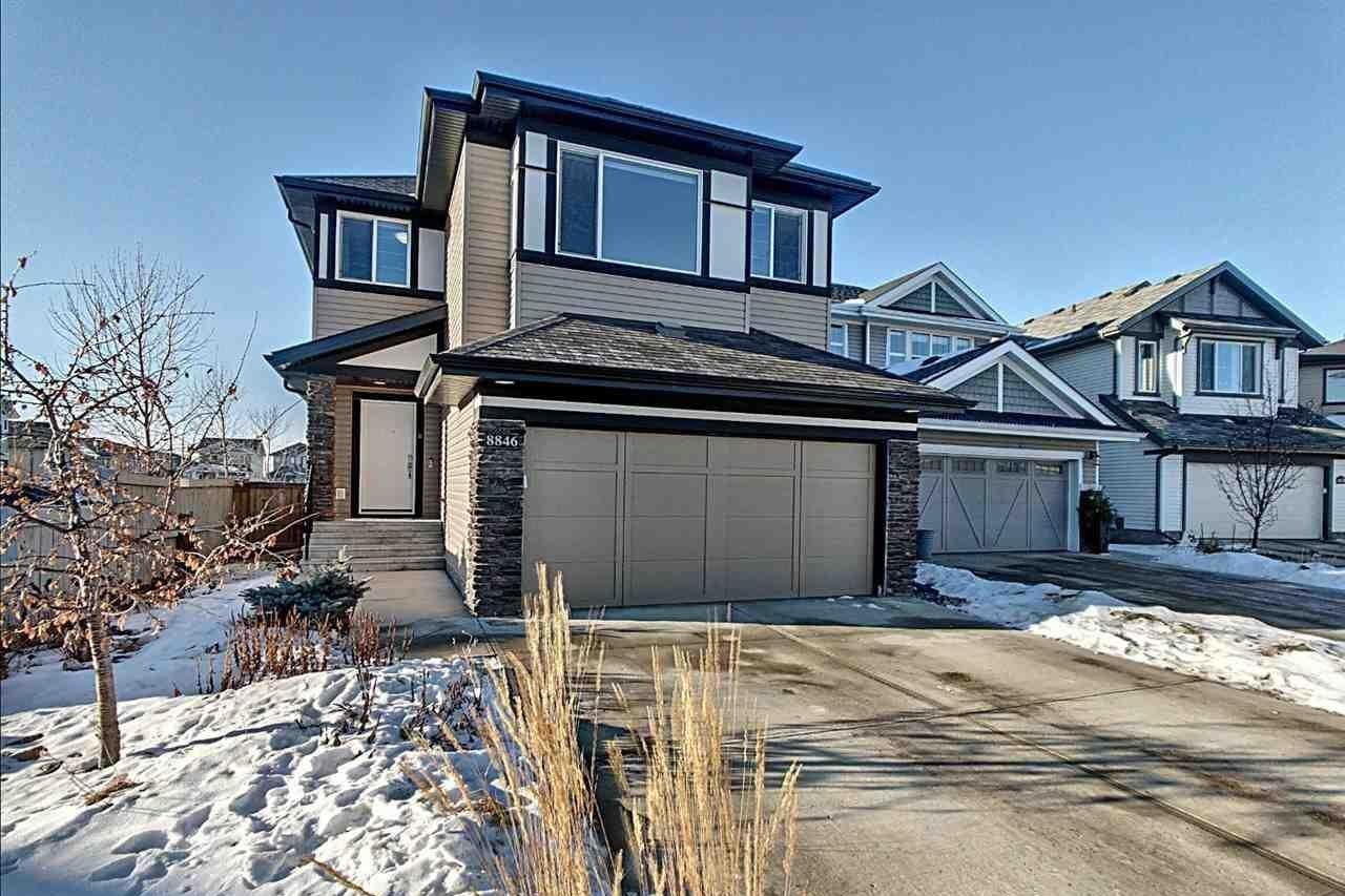 House for sale at 8846 180a Av NW Edmonton Alberta - MLS: E4224203