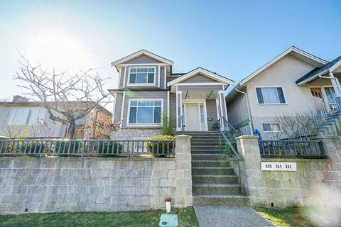 House for sale at 886 King Edward Ave E Vancouver British Columbia - MLS: R2447497