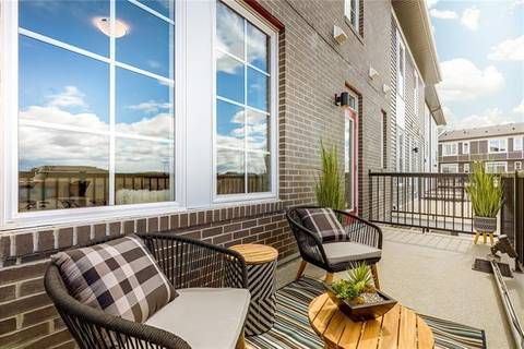 Townhouse for sale at 886 Walgrove Blvd Southwest Calgary Alberta - MLS: C4266786