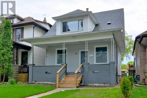 House for sale at 887 Hall  Windsor Ontario - MLS: 19018540