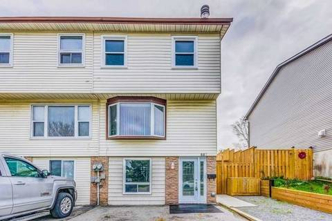 Townhouse for sale at 887 Southridge St Oshawa Ontario - MLS: E4473504