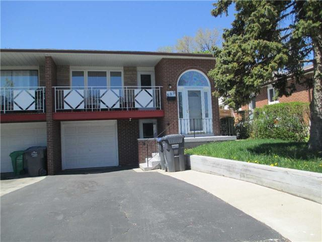 For Sale: 889 Consort Crescent, Mississauga, ON | 3 Bed, 2 Bath Townhouse for $769,999. See 7 photos!