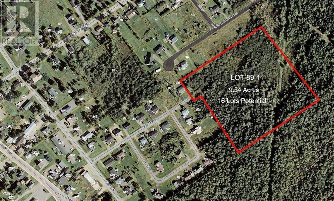 Residential property for sale at Lot 89-1 Lauza  Unit 89-1 St. Antoine New Brunswick - MLS: M127838