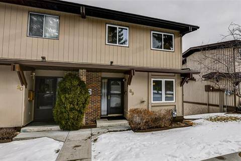 Townhouse for sale at 1055 72 Ave Northwest Unit 89 Calgary Alberta - MLS: C4286577