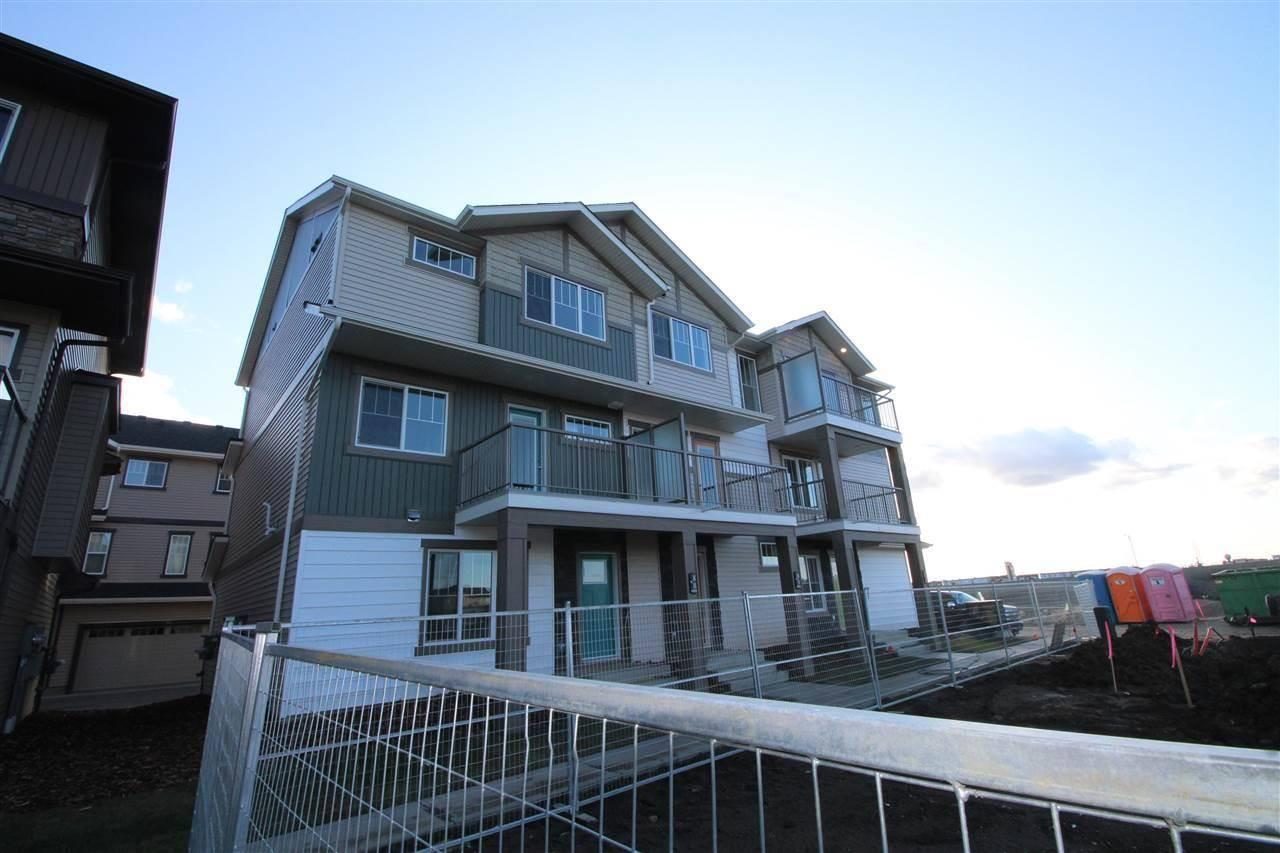 Townhouse for sale at 1530 Tamarack Blvd Nw Unit 89 Edmonton Alberta - MLS: E4177660