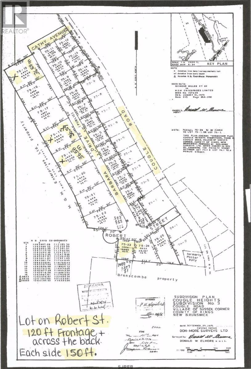 Home for sale at 4 Barbara Dr Unit 89 Sussex Corner New Brunswick - MLS: NB021597