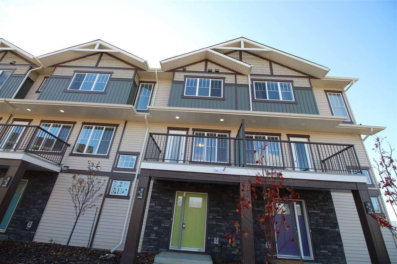 Townhouse for sale at 50 Mclaughlin Dr Unit 89 Spruce Grove Alberta - MLS: E4177662