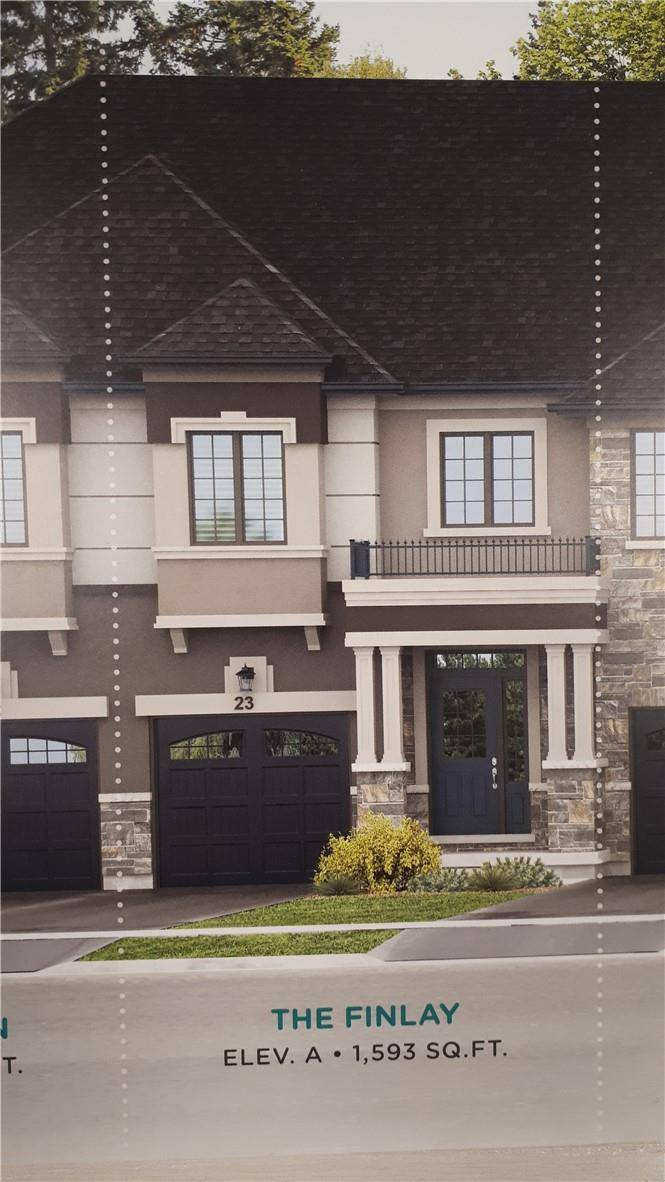 Townhouse for sale at 89 Bilanski Farm Rd Brantford Ontario - MLS: H4072218