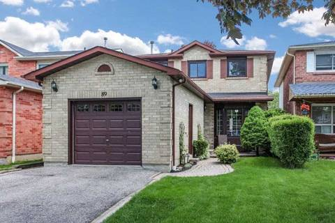 House for sale at 89 Daniels Cres Ajax Ontario - MLS: E4489208