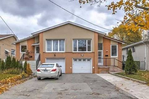 Townhouse for sale at 89 Fenelon Dr Toronto Ontario - MLS: C4624210