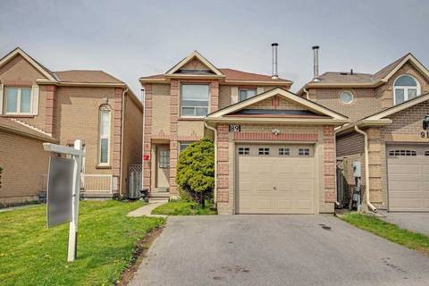 House for sale at 89 Gailcrest Circ Vaughan Ontario - MLS: N4453361