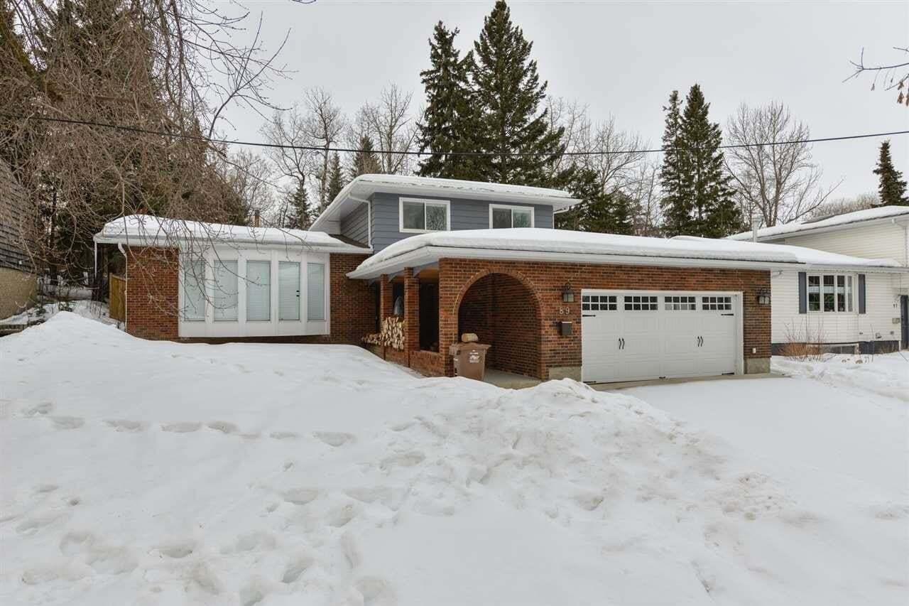 House for sale at 89 Glenhaven Cr St. Albert Alberta - MLS: E4193018