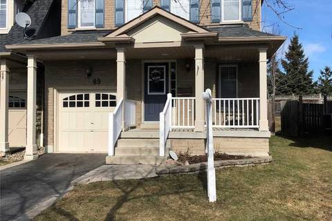 House for sale at 89 Harrongate Pl Whitby Ontario - MLS: E4728709