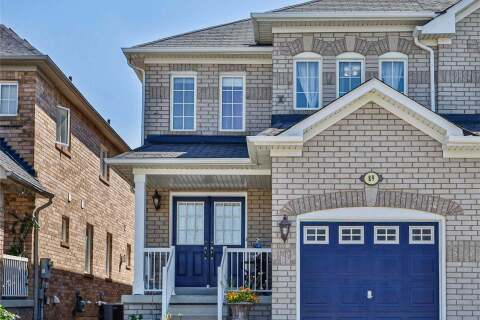 Townhouse for sale at 89 Komura Rd Vaughan Ontario - MLS: N4811915