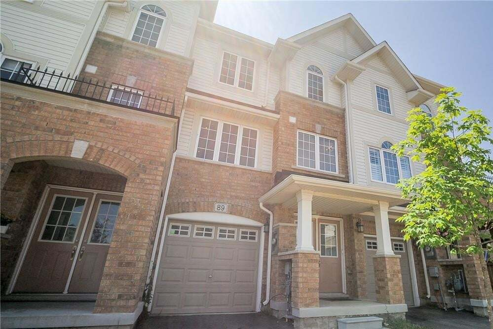 Townhouse for sale at 89 Mayland Tr Stoney Creek Ontario - MLS: H4081837