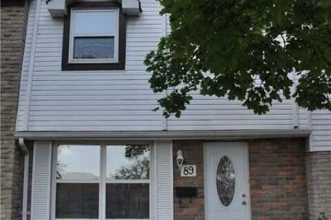 Townhouse for sale at 89 Morley Cres Brampton Ontario - MLS: 30823095