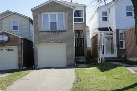 House for sale at 89 Penmarric Pl Toronto Ontario - MLS: E4423953