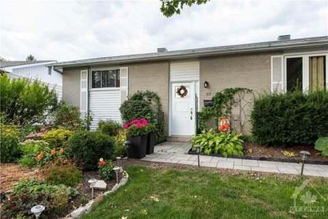 House for sale at 89 Sheldrake Dr Ottawa Ontario - MLS: 1211655