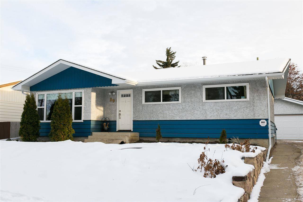 House for sale at 89 Sunset Blvd St. Albert Alberta - MLS: E4182941