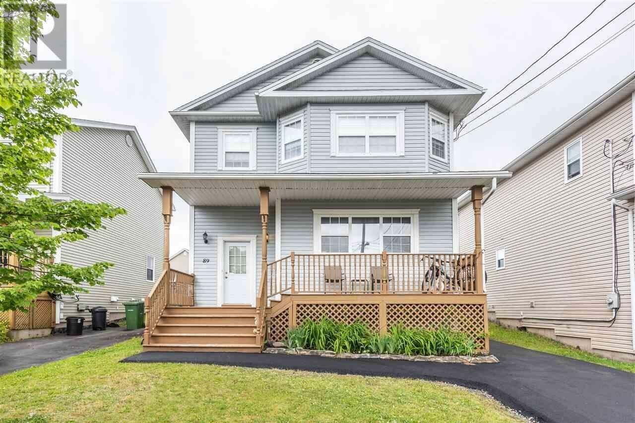 House for sale at 89 Westfield Cres Dartmouth Nova Scotia - MLS: 202012411