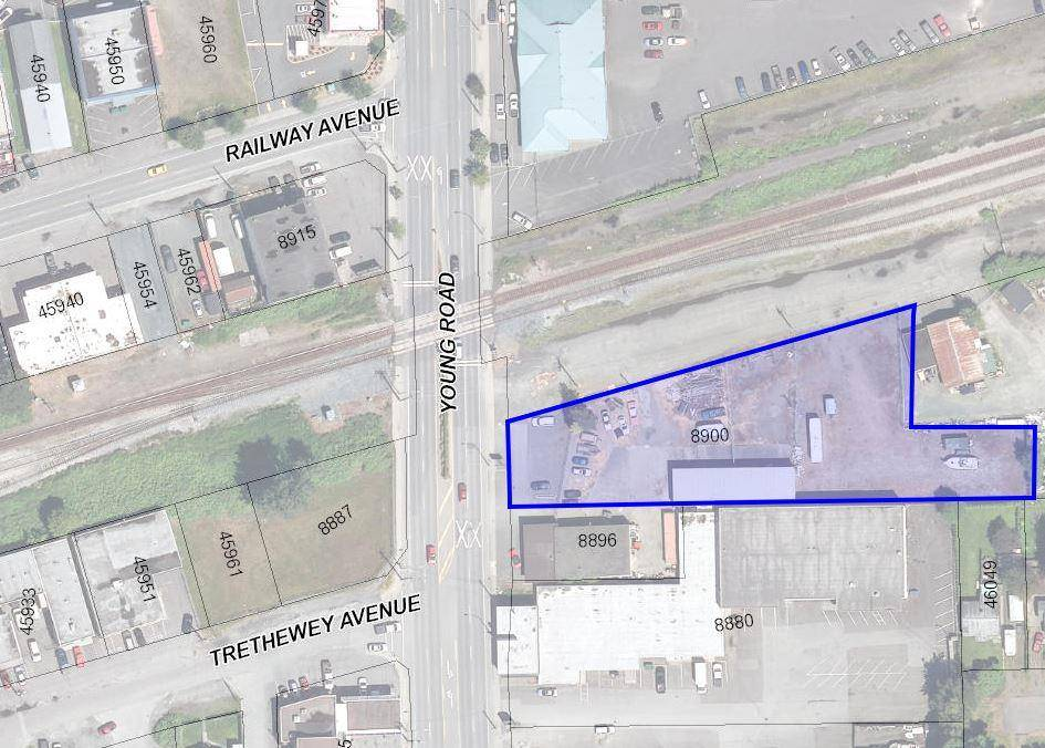 Commercial property for sale at 8900 Young Rd Chilliwack British Columbia - MLS: C8028325