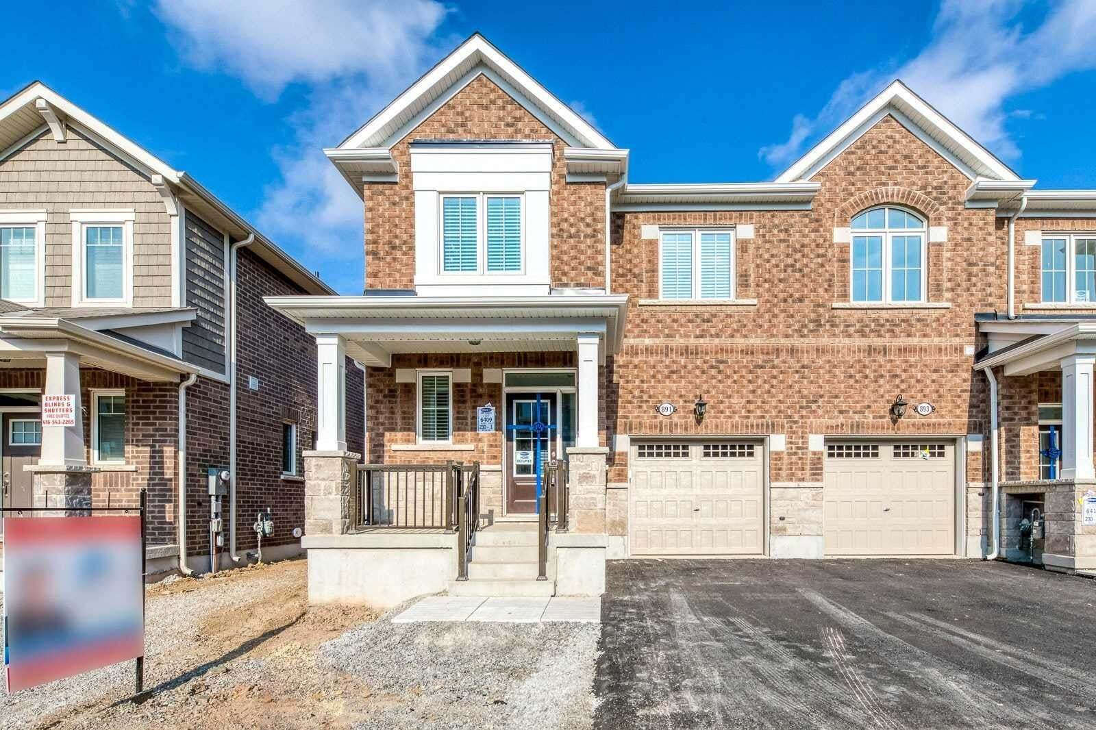 Townhouse for sale at 891 Ash Gt Milton Ontario - MLS: W4930613