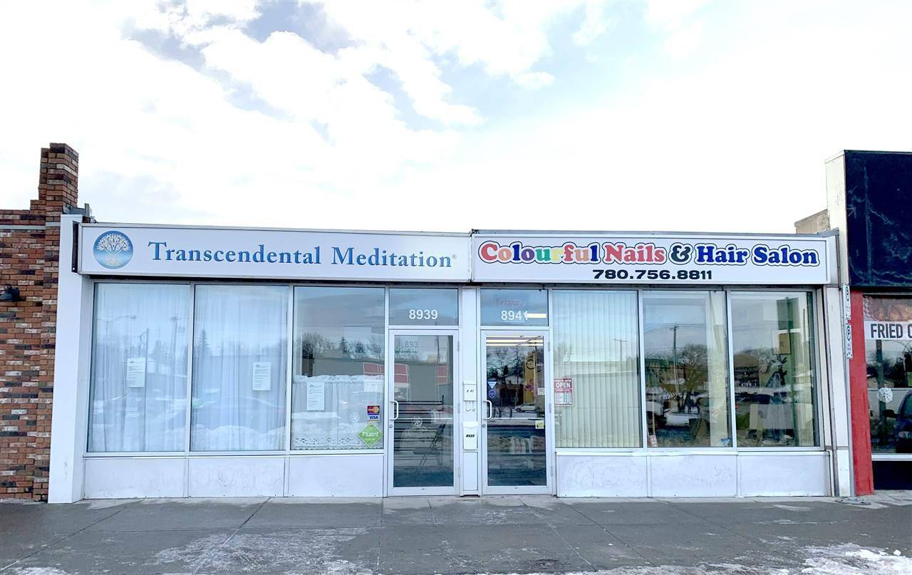 Commercial property for sale at 8939 82 Ave Nw Edmonton Alberta - MLS: E4175072
