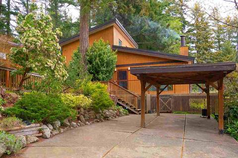 House for sale at 896 Taylor Rd Bowen Island British Columbia - MLS: R2454821