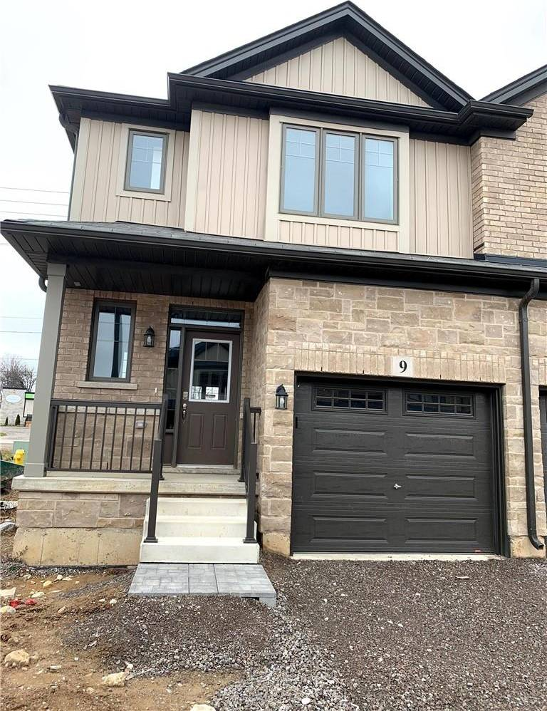 Townhouse for rent at 1 Tom Brown Dr Unit 9 Paris Ontario - MLS: H4070361