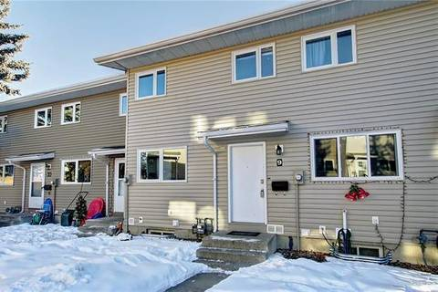 Townhouse for sale at 1111 Canterbury Dr Southwest Unit 9 Calgary Alberta - MLS: C4279961