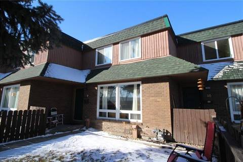 Townhouse for sale at 11240 6 St Southwest Unit 9 Calgary Alberta - MLS: C4290839