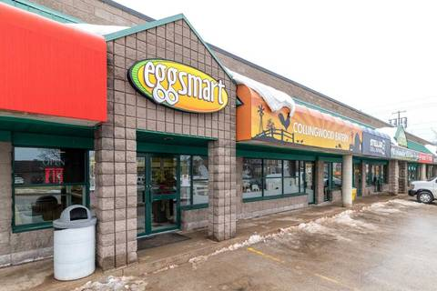 Commercial property for sale at 115 First St Unit 9 Collingwood Ontario - MLS: S4711222
