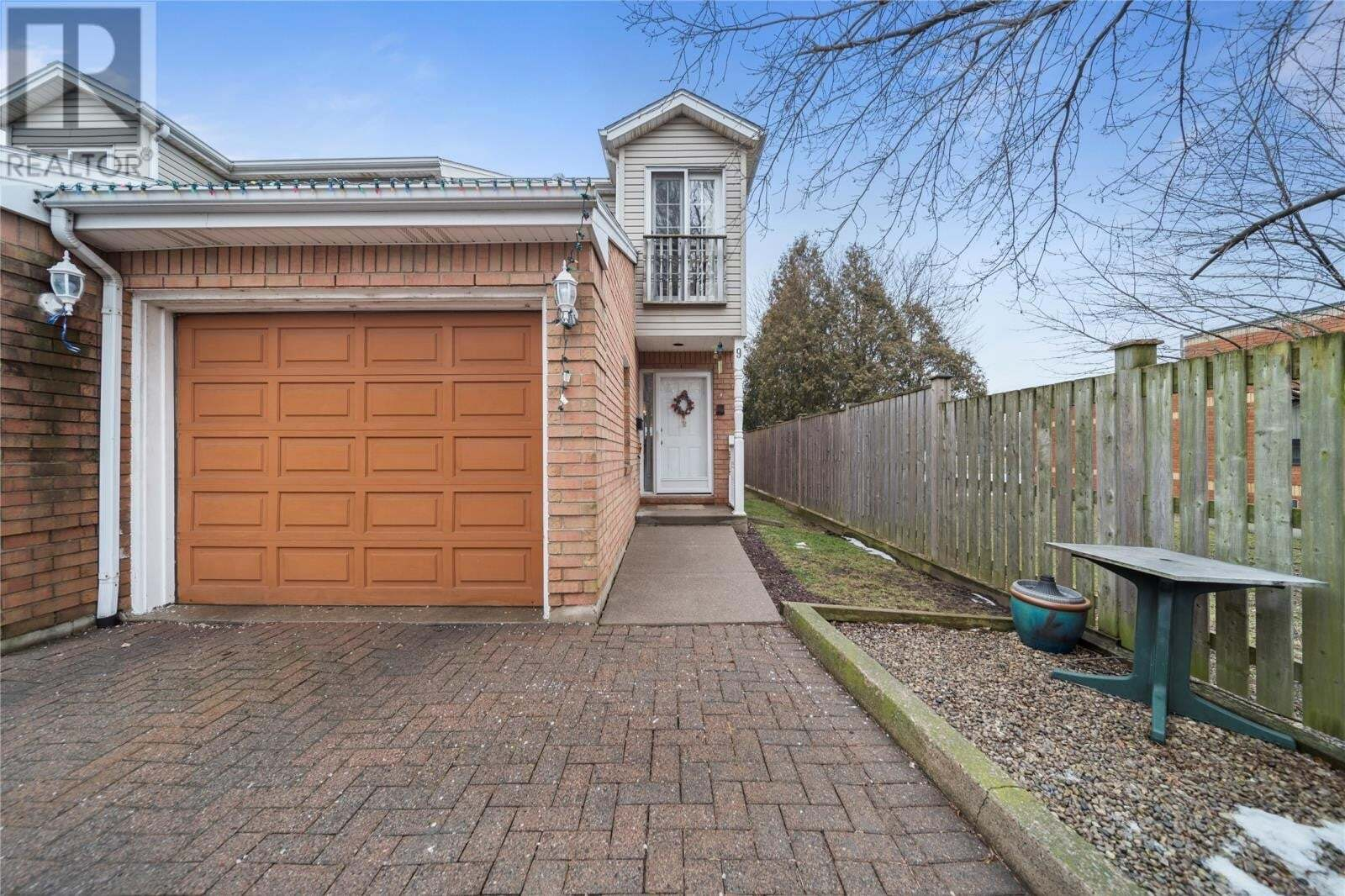 Townhouse for sale at 1185 Grand Marais Rd West Unit 9 Windsor Ontario - MLS: 20006025