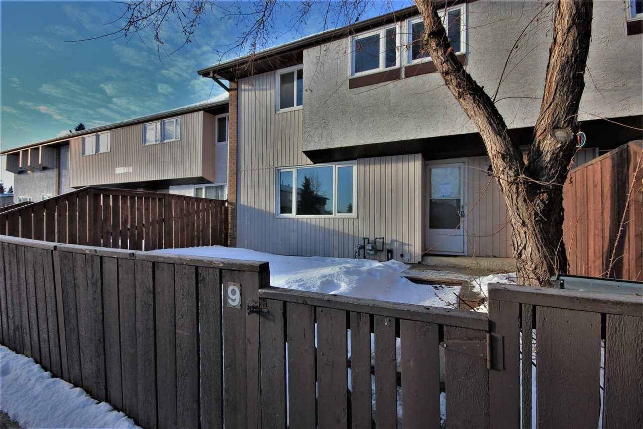 Townhouse for sale at 14105 82 St Nw Unit 9 Edmonton Alberta - MLS: E4187372