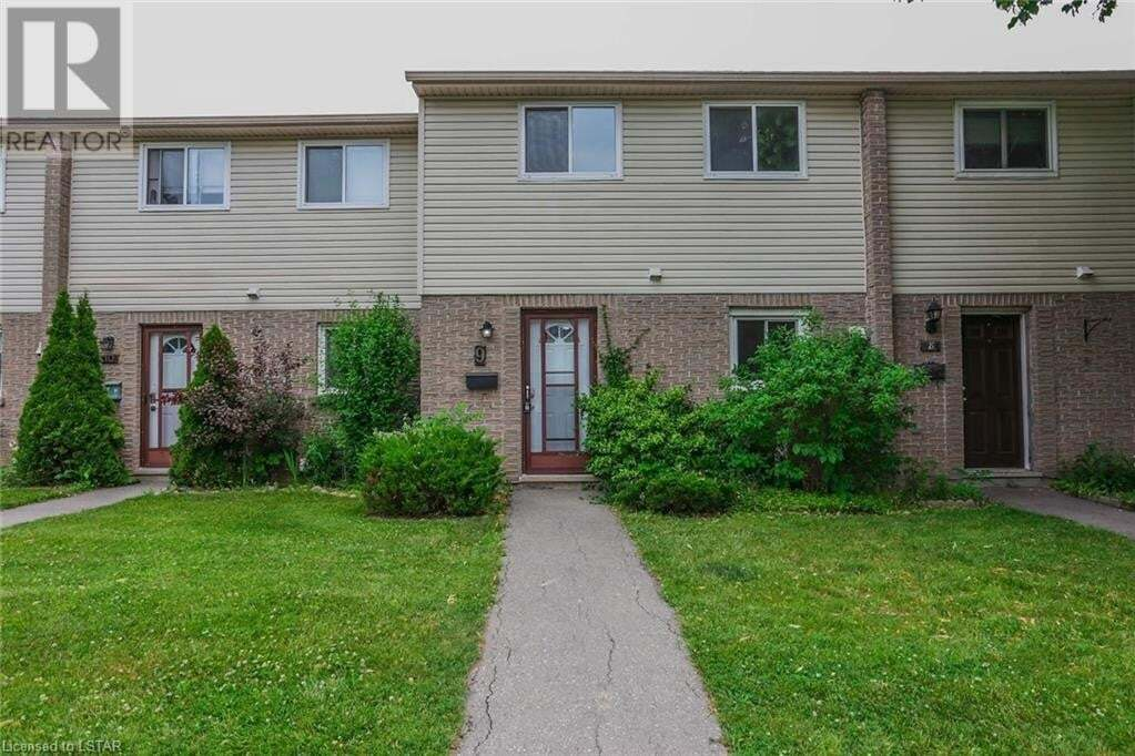 Townhouse for sale at 166 Southdale Rd W Unit 9 London Ontario - MLS: 268297