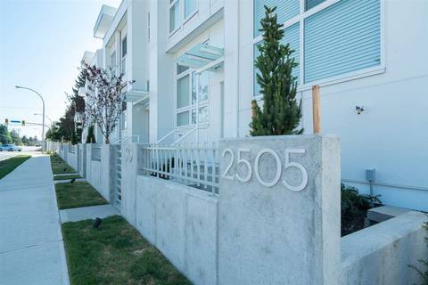 Townhouse for sale at 2505 Ware St Unit 9 Abbotsford British Columbia - MLS: R2395418