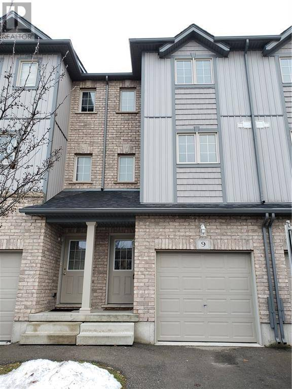 Townhouse for sale at 285 Old Huron Rd Unit 9 Kitchener Ontario - MLS: 30783197
